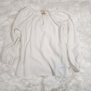 Michael Kors cream blouse
